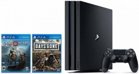 PS4 Pro Bundle With Days Gone Goes Cheap For Prime Day