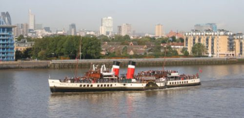 Help save the world's last sea-going paddle steamer