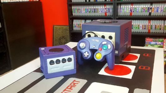 Someone Made Their Own Classic Edition-Sized GameCube, And It's Pretty Cool