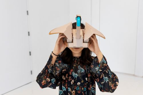 Nintendo Labo VR hands-on: virtual reality goes DIY