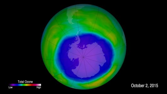 A banned CFC is destroying the ozone and nobody can find its source