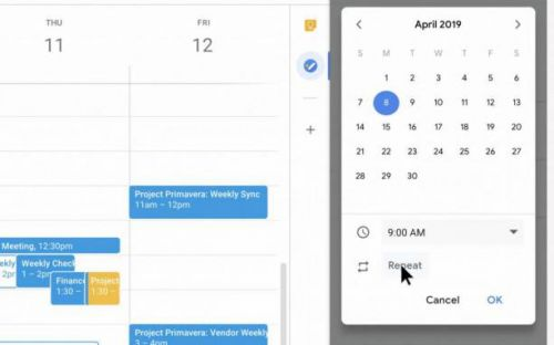 Google Tasks becomes more useful with starting and recurring times