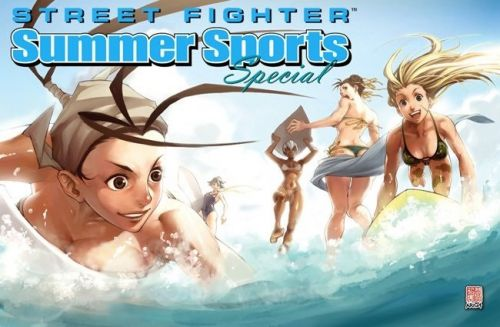 Here's your chance to get your artwork featured in the UDON 2018 Street Fighter Summer Sports Special pin-up collection