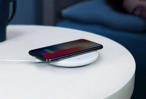 The wireless charger that should've come with your phone is only $9 for Prime Day