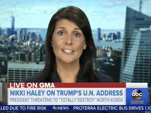 Nikki Haley defends Trump's nickname for Kim Jong Un: 'Every other international community now is referring to him as Rocket Man'