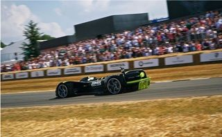 Nvidia-powered 'Robocar' becomes first driverless car to complete Goodwood's Hillclimb