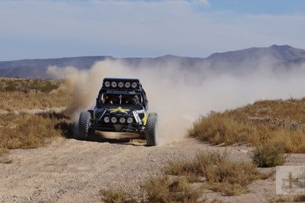 Breathing dust and hanging on for dear life at this year's Baja 1000