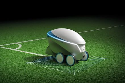 Nissan's Pitch-R robot is here to put field stripers out of work