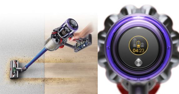 Dyson's V11 vacuum automatically changes its suction power to last longer