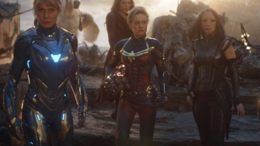 Captain Marvel's Suit Was Entirely CGI in AVENGERS: ENDGAME