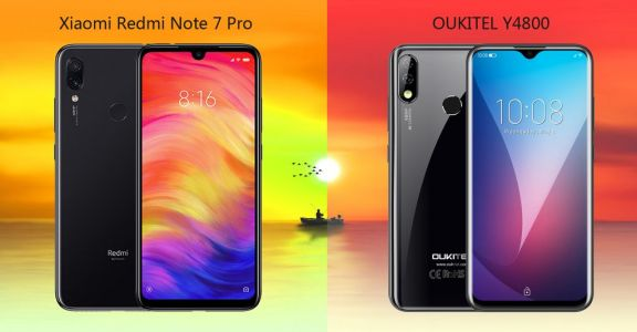 Is the OUKITEL Y4800 a worthy foe even for Redmi Note 7 Pro ?