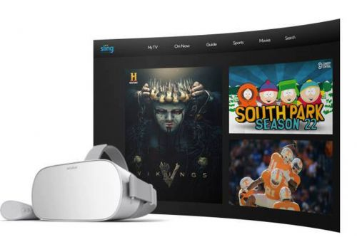 Sling TV, ESPN, and Fox Now arrive on Oculus Go headsets