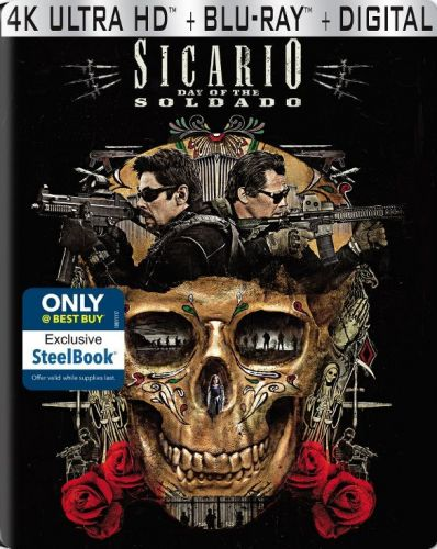 Best Buy Unveils 'Sicario: Day of the Soldado' 4K Steelbook