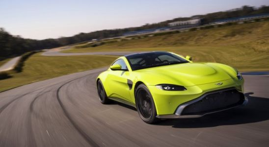The 2019 Aston Martin Vantage is jaw-dropping
