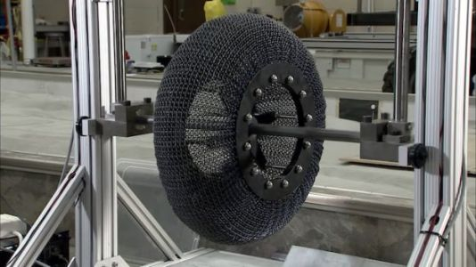 NASA Tests New Mars Rover Tires That Remember Their Shape