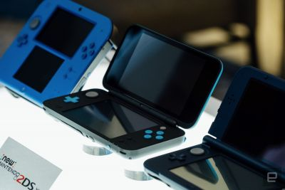 Nintendo's 2DS XL lands in the UK for £130