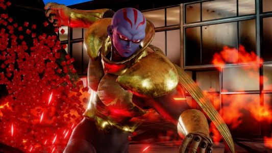 First Look At Jump Force's Original Villain, Kane