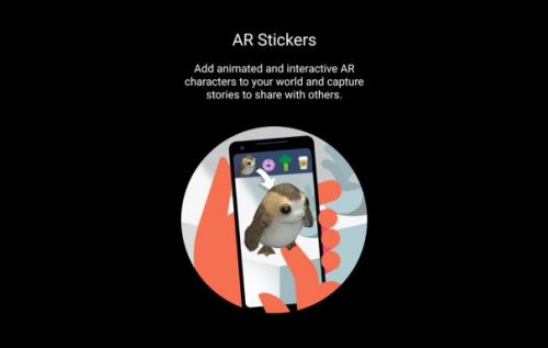 Star Wars: The Last Jedi hit Android with Google AR Stickers
