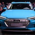 2019 Audi E-Tron SUV's battery is 1,500 pounds of Xanax video - Roadshow