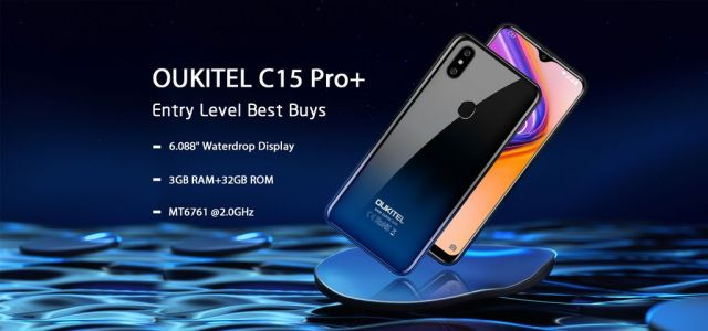 Upgraded OUKITEL C15 Pro+ coming soon for just $75