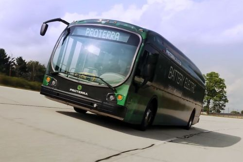 Electric bus sets record with 1,101-mile trip on a single charge