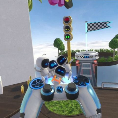 VRodeo: Astro Bot Rescue Mission