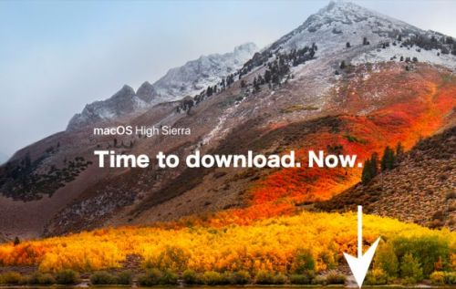 How to download macOS High Sierra today and install