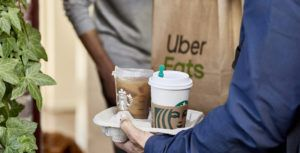 Starbucks Canada and Uber Eats delivery service now live in Toronto, Vancouver, and Calgary