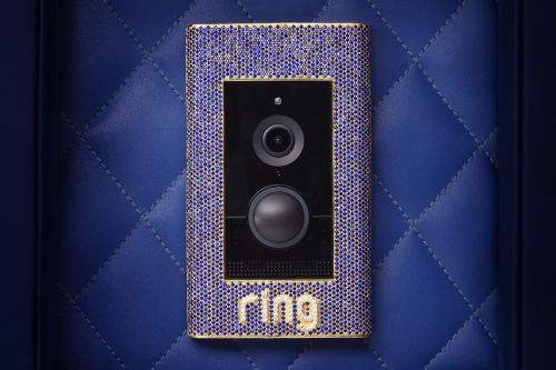 Ring's new $100,000 doorbell is encrusted with sapphires, diamonds, and gold