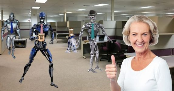 Let the robots have the damn jobs - all of them!