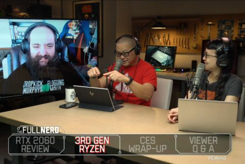 The Full Nerd ep. 81: GeForce RTX 2060 review, 3rd-gen Ryzen, and CES wrap-up