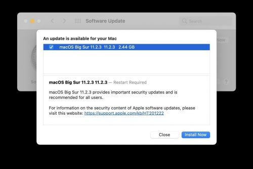 MacOS Big Sur 11.2.3 update is now available with WebKit fix