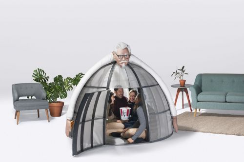 Colonel Sanders wants to hug you and cut off your cell signal for $10,000
