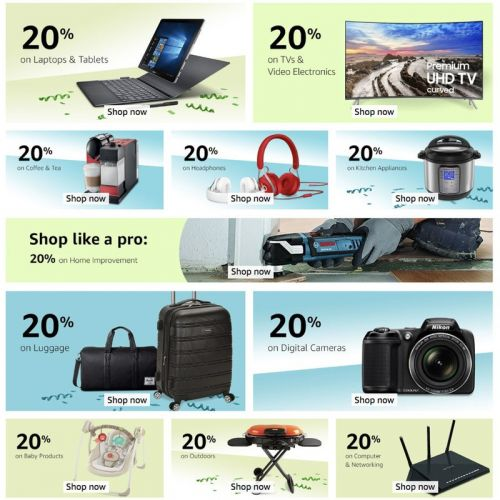Go deal-hunting in the Amazon Warehouse with an extra 20% off for a limited time