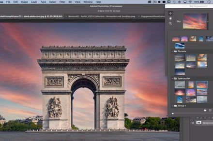 Photoshop will soon allow you to swap out boring skies automatically using A.I