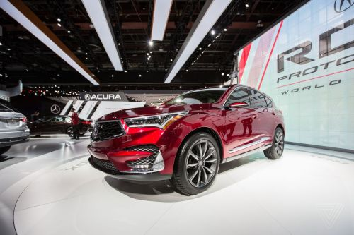 Acura hides a slick Android-based interface in yet another SUV