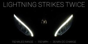 Electric motorcycle from Lighting boasts 240km range