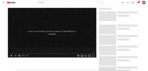 YouTube really is down right now