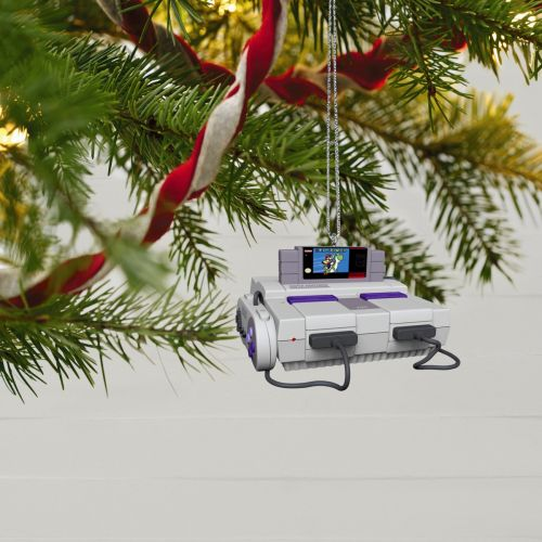 Hallmark 2021 Ornaments Reveal Gaming Consoles as Decors for Holidays-Early Christmas?