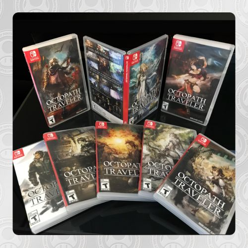 Unlock Eight Alternate Box Art Options For Octopath Traveler On My Nintendo