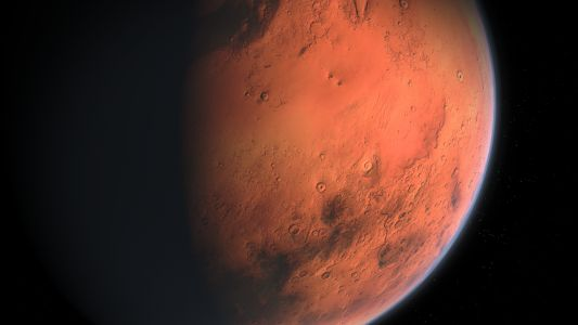 UAE's Hope Mars Probe Captures Its First-Ever Breathtaking Image of Mars