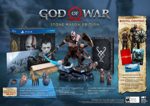 God of War Collector's Edition Revealed