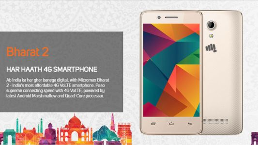 Vodafone and Micromax launch Bharat 2 Ultra Android smartphone at Rs. 999