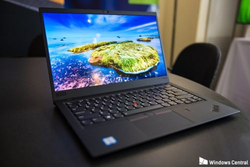 Lenovo's updated ThinkPad X1 laptops are as drool-worthy as ever
