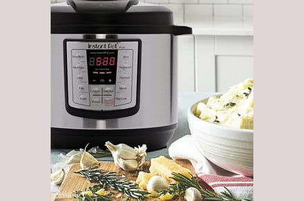 Amazon cuts the price on the Instant Pot LUX 80 for party hosts and big families