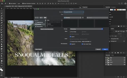 Photoshop gets dark mode for 30th birthday