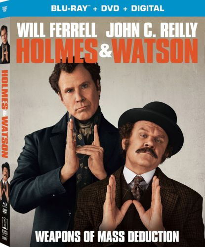 'Holmes & Watson' Blu-ray, DVD, Digital Release Dates and Details