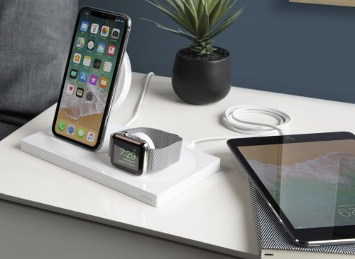 Belkin's wireless charging dock handles your iPhone XS and Apple Watch