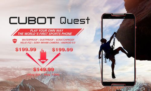 CUBOT Quest and Quest Lite just arrived starting at $119.99