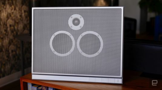 Master & Dynamic's concrete speaker is equal parts sound and spectacle